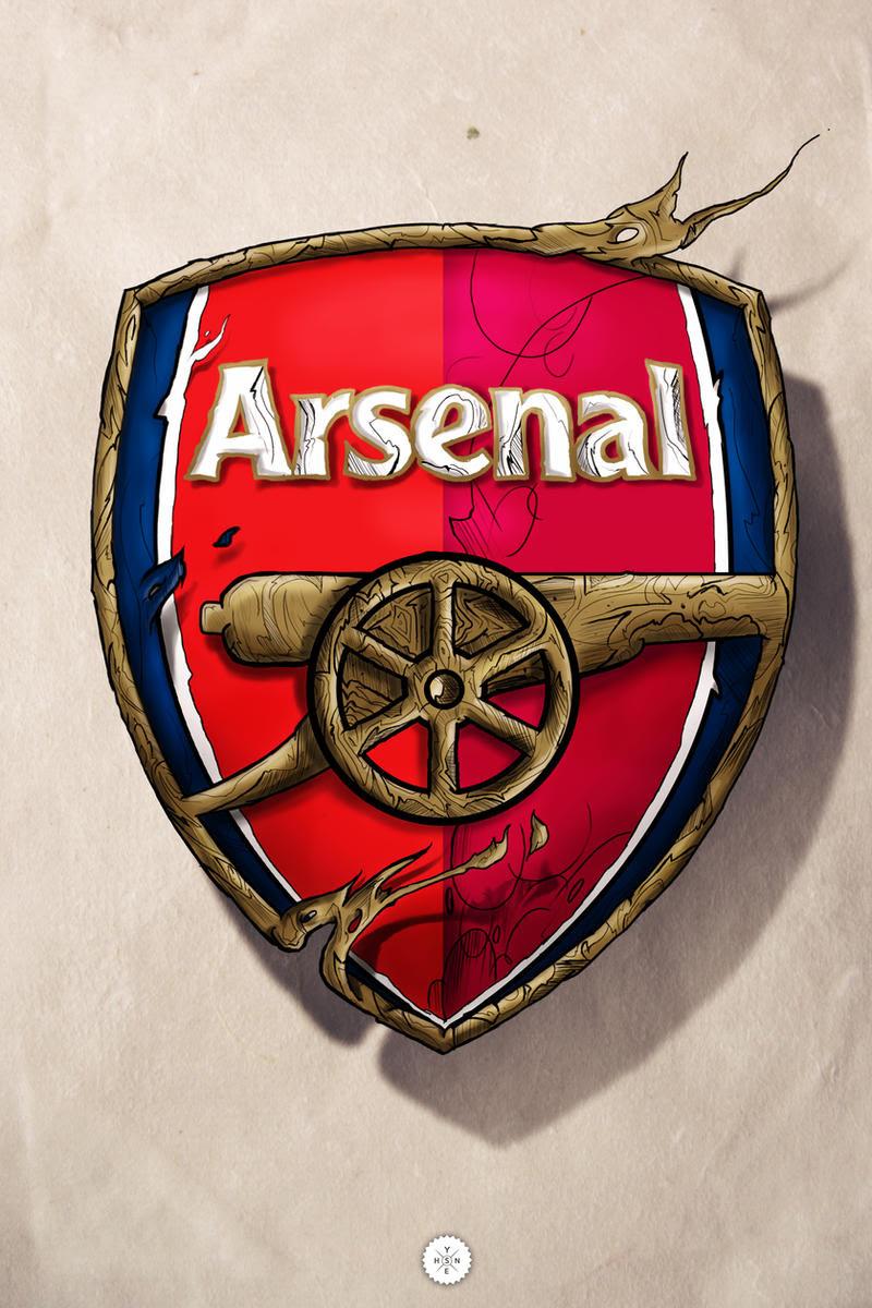Arsenal Logo by Shyne1 on DeviantArt