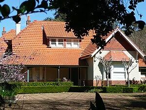 Malvern, Joseland's home at 41 Burns Road, Wahroonga