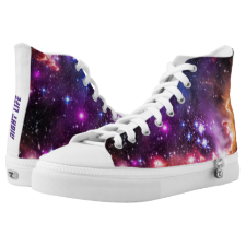 Walking in Starlight for Feeling Cool Printed Shoes