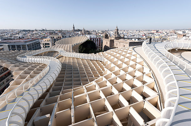Built within the heart of Seville, the Metropol Parasol becomes the city's most fascinating must-see destination