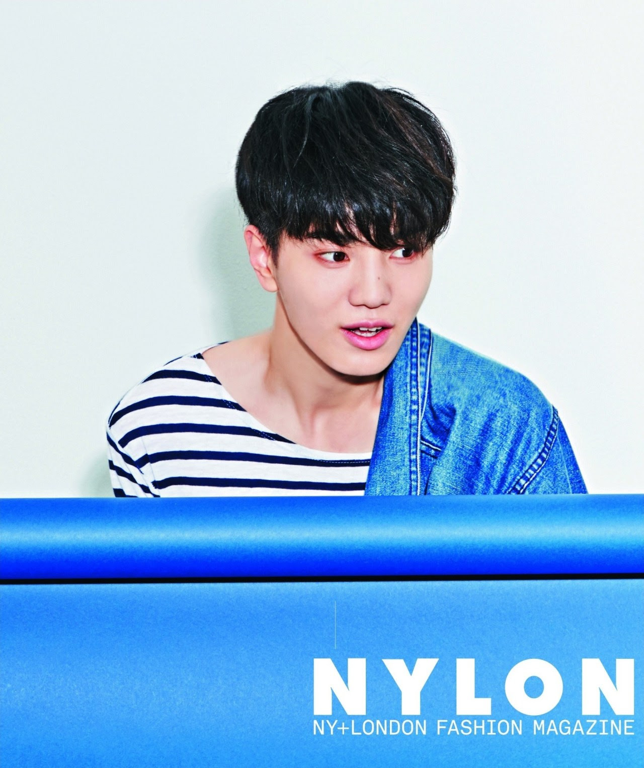 Infinite Sung Jong - Nylon Magazine September Issue '14