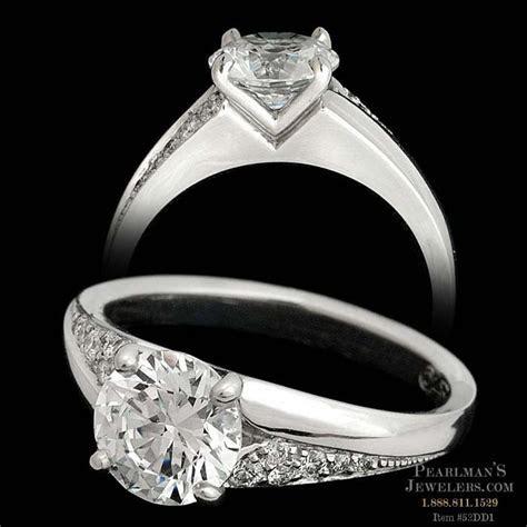 Michael Bondanza Diamond Engagement Ring