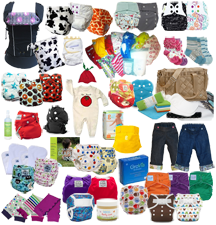 Mother's Day Cloth Diaper Daily Mothering Prize Pack