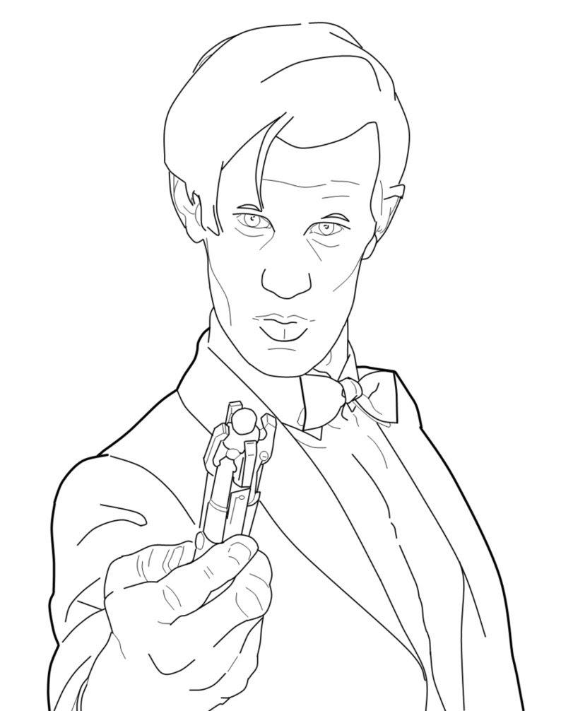 Belle Coloriage Doctor who A Imprimer | Imprimer et ...
