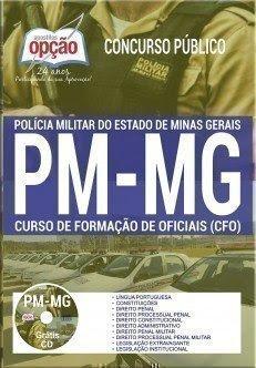 Apostila Concurso PM MG 2017 | CURSO DE FORMAÇÃO DE OFICIAIS