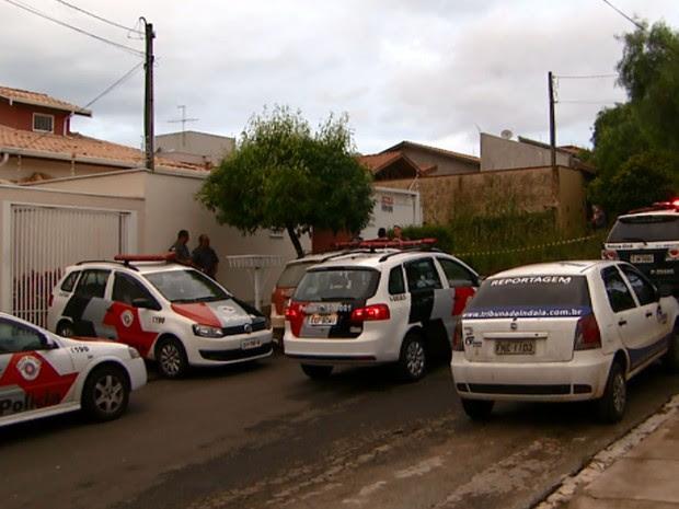 Engenheiro civil de 50 anos foi morto na casa onde morava em Indaiatuba por um PM (Foto: Reprodução EPTV)