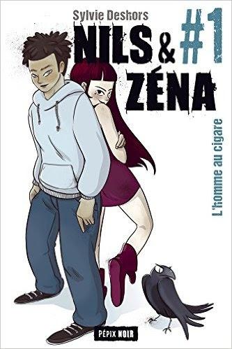 Couverture Nils et Zéna, tome 1 : L'homme au cigare