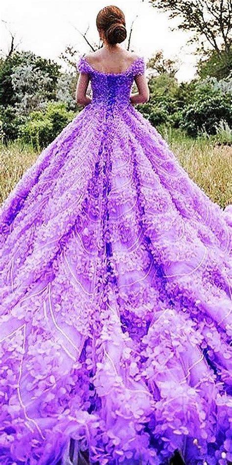 Purple wedding dresses, White wedding dresses and Wedding