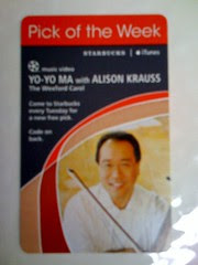 Starbucks iTunes Pick of the Week - Yo-Yo Ma with Alison Krauss - The Wexford Carol