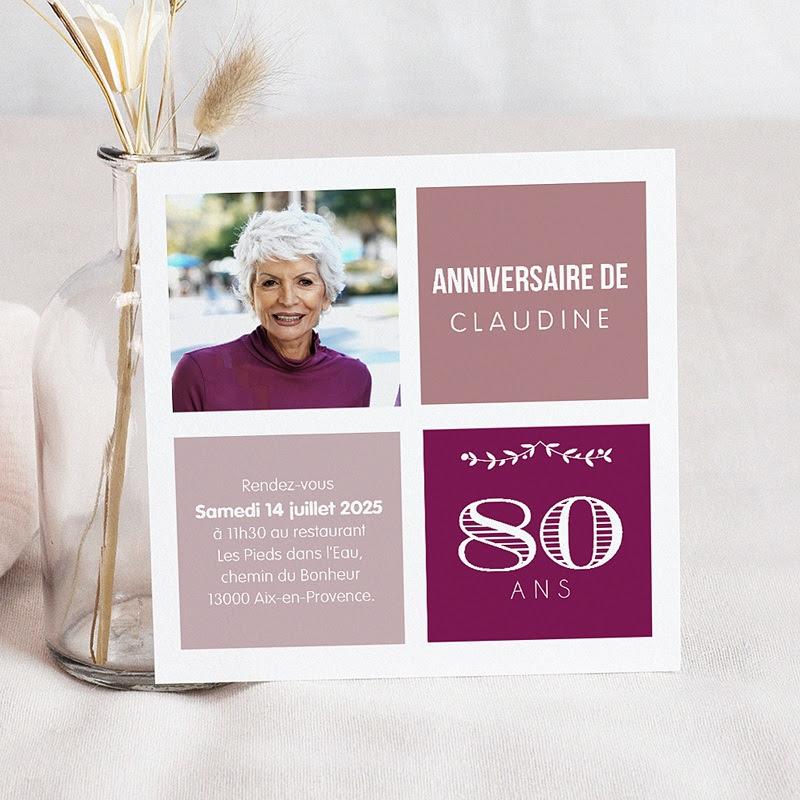 Modele Carte Anniversaire Pour 80 Ans Nanaryuliaortega News