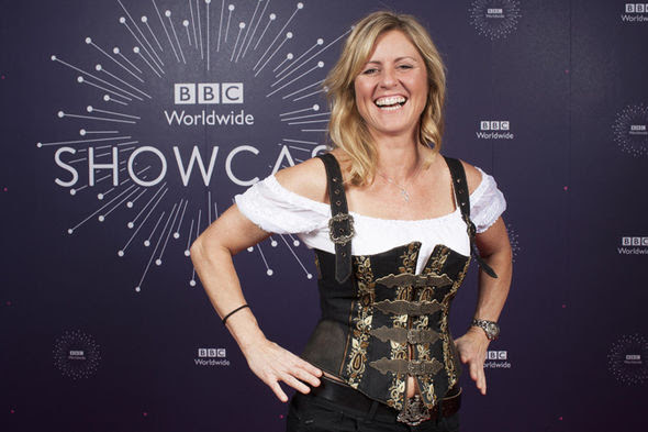 Top Gear's Sabine Schmitz in SEXISM storm as she wears ...