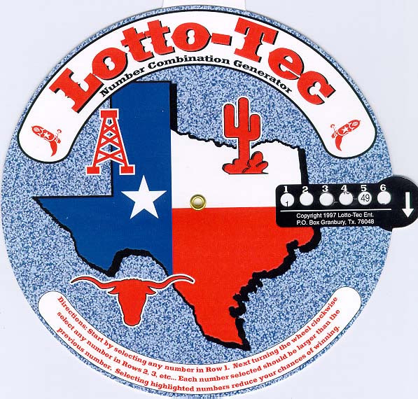 LotteryTickets: Texas Lottery