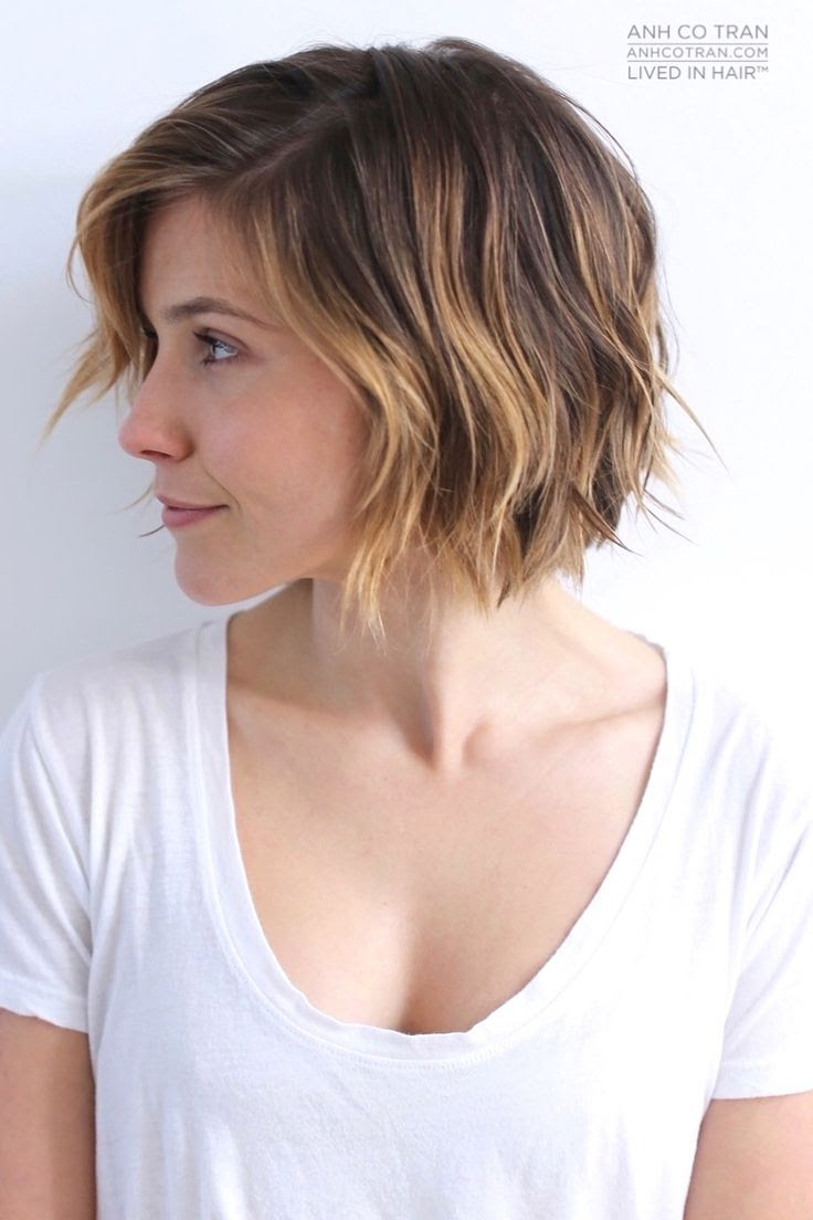 17 Cute Choppy Bob Hairstyles We Love Styles Weekly Haircuts