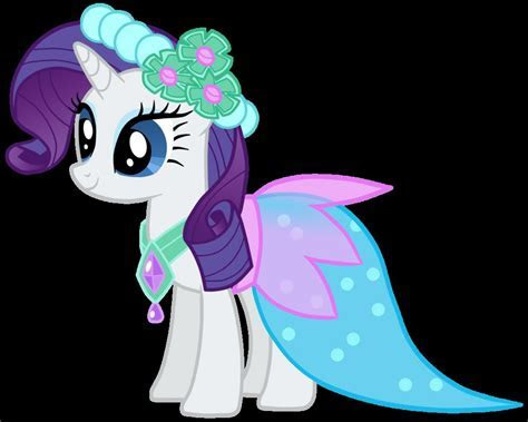 My Little Pony Rarity Wedding Dress