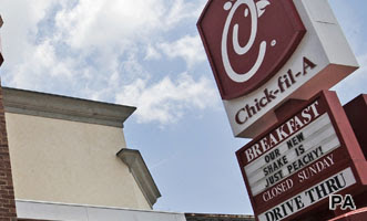 Chick-Fil-A takes perception dive with fast food eaters