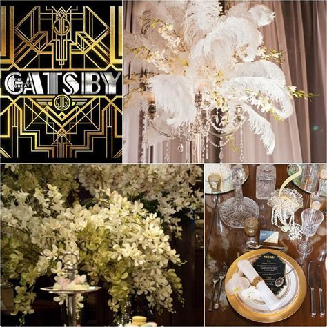 Great Gatsby Wedding Ideas   Great Gatsby Decorations The