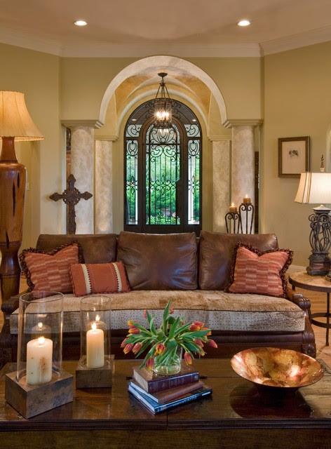 mediterranean living room 1