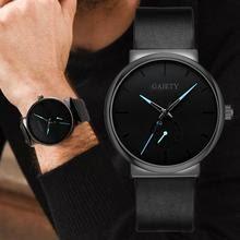 Men's Watch Casual Sport  Watches Quartz Wrist Watch Leather