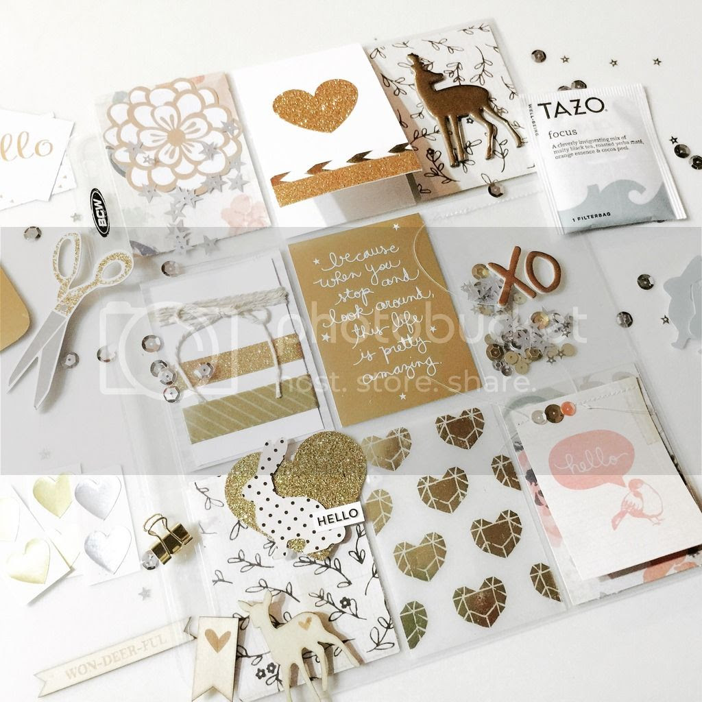 pocket letter ideas