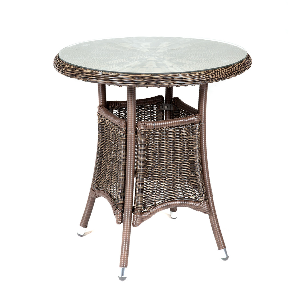 Riverdale Bistro Rattan Garden Set With 70cm High Table
