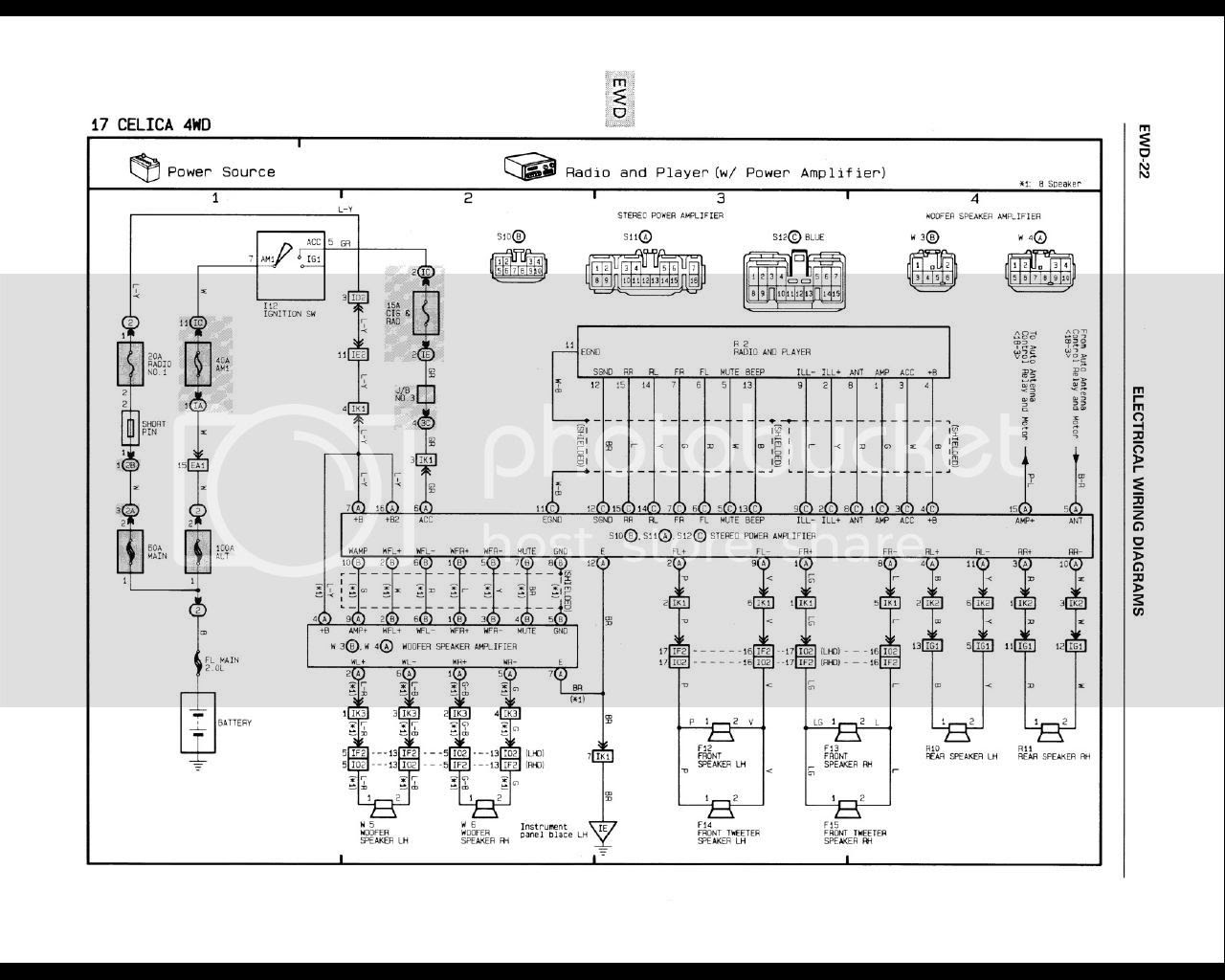 Amp Premium Sound Wiring Diagram 1998 Ford Contour
