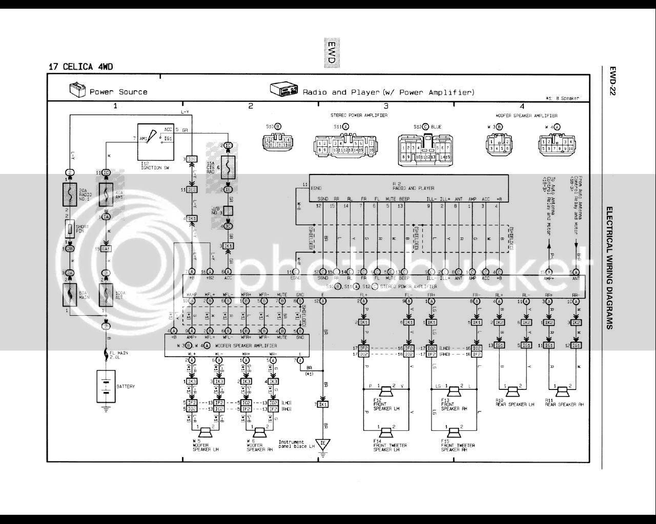 Amp Premium Sound Wiring Diagram 1998 Ford Contour ...