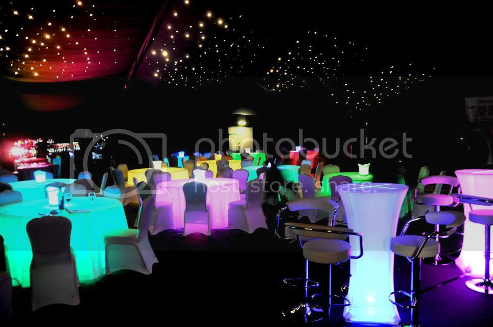 led banquet tables in a ballroom2