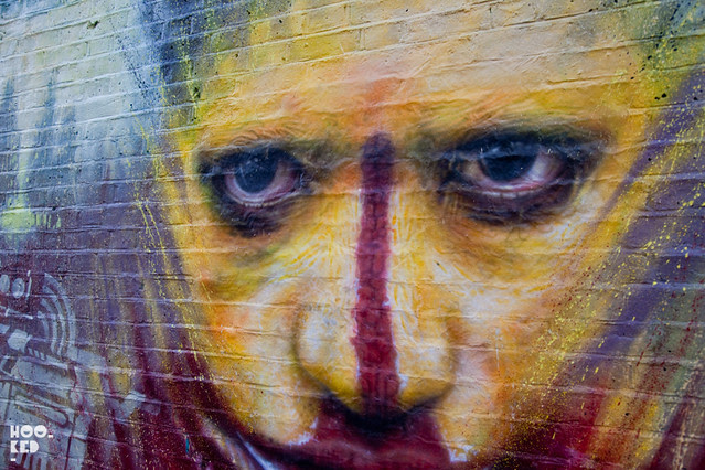 Dale Grimshaw London Mural