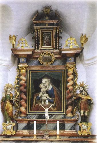 Altar Kapelle Mariahilf Samnaun-Dorf
