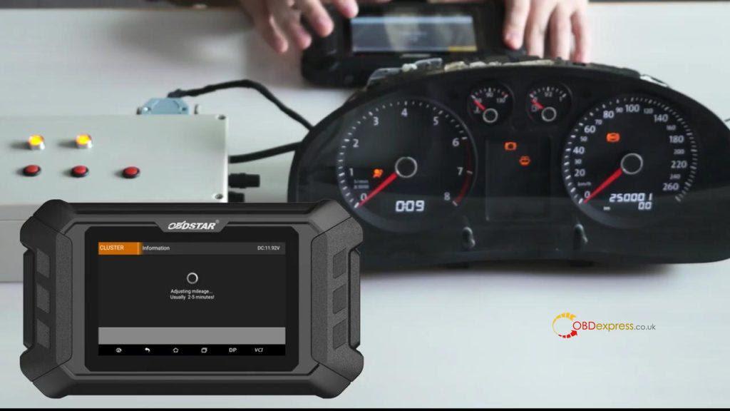 Obdstar Odo Mästare VW Passat vägmätare Correction 13
