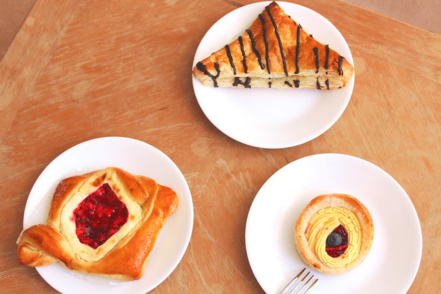 The perfect breakfast pastries