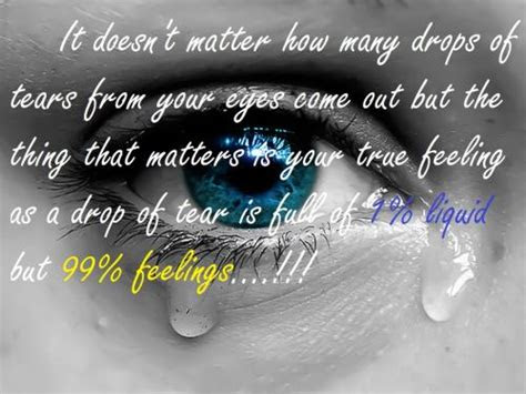 Crying Eyes With Quotes
