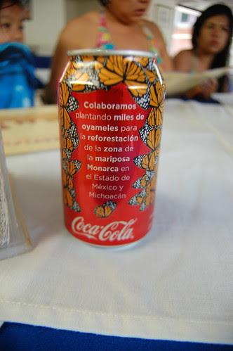 Coca cola Mariposas