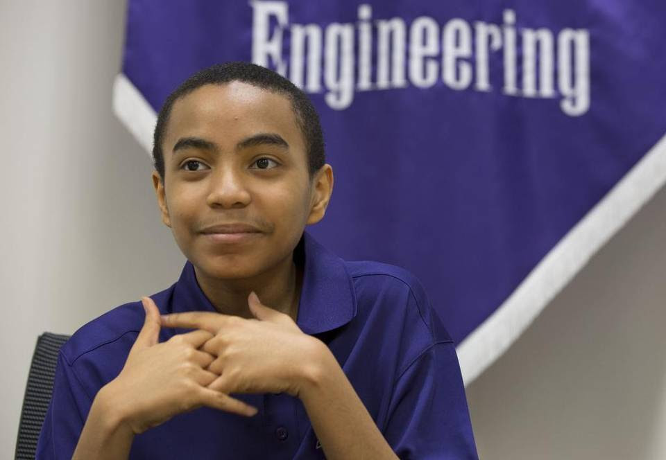 TCU student Carson Huey-You will graduate Saturday, becoming the school's youngest graduate ever.