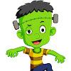 Frankenstein Cartoon Cute