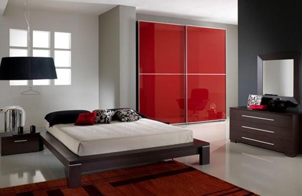 20 Coolest Black And Red Bedroom Design Ideas   Room