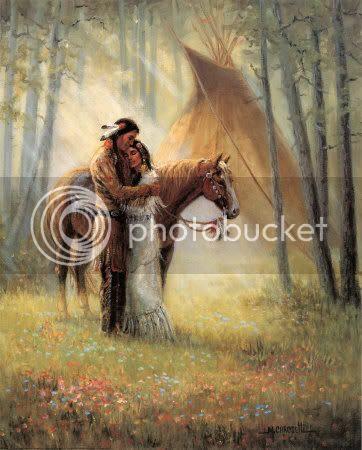 Cherokee maiden