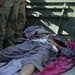 The body of a would-be suicide bomber who never reached his target in Kandahar, Afghanistan.
