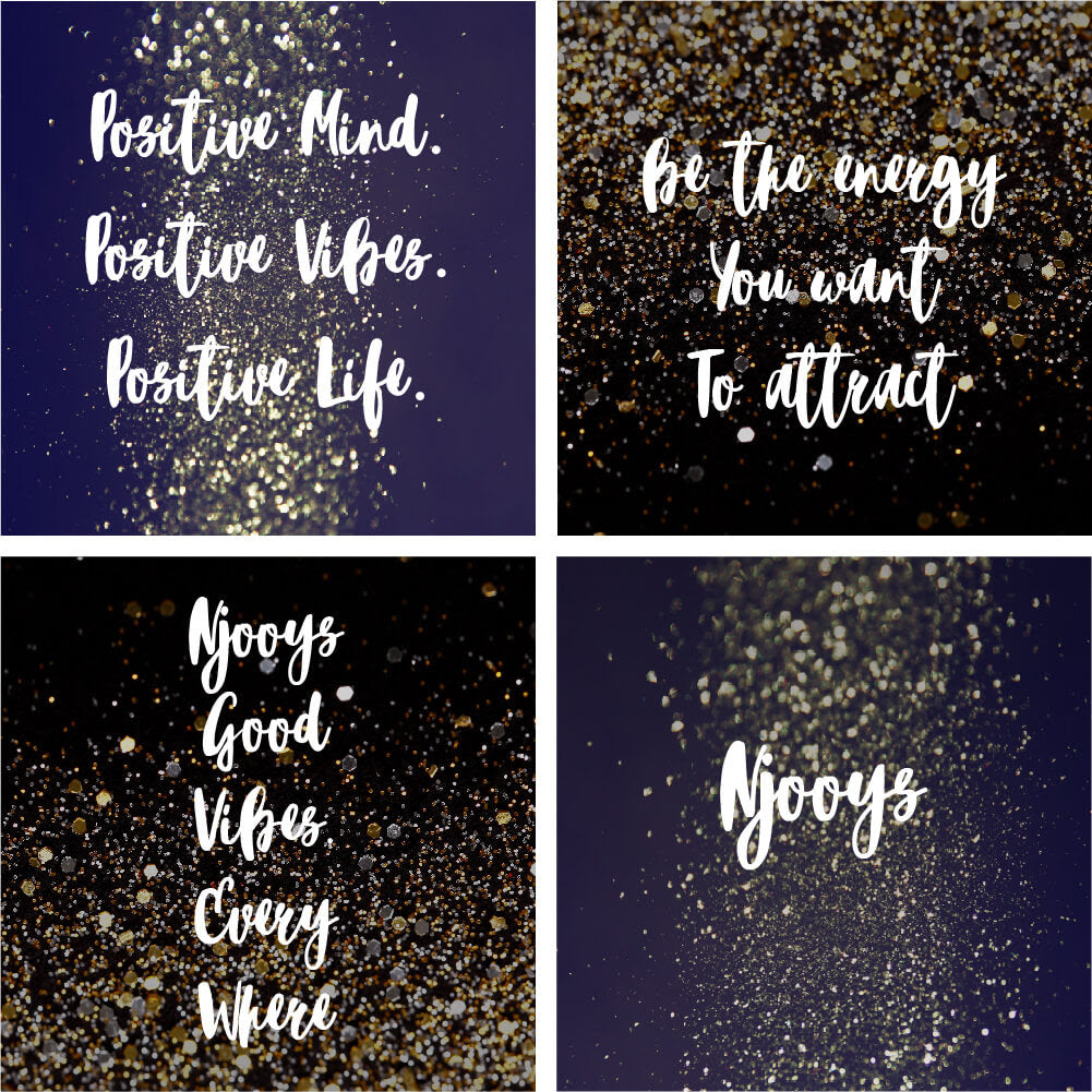 Positive Mind Positive Vibes Positive Life Digi Download Njooys