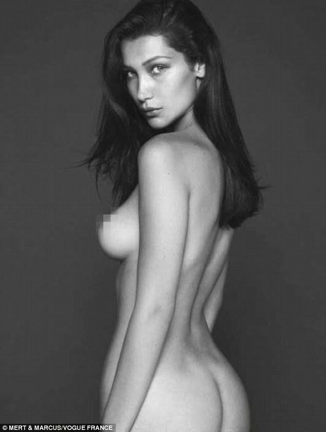 """'Ame o seu corpo """": O modelo promovido confiança corpo ao discutir as filmagens nu"""