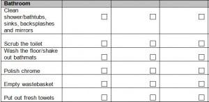 Bathroom Cleaning Checklist Excel. Event Planning Checklist ...