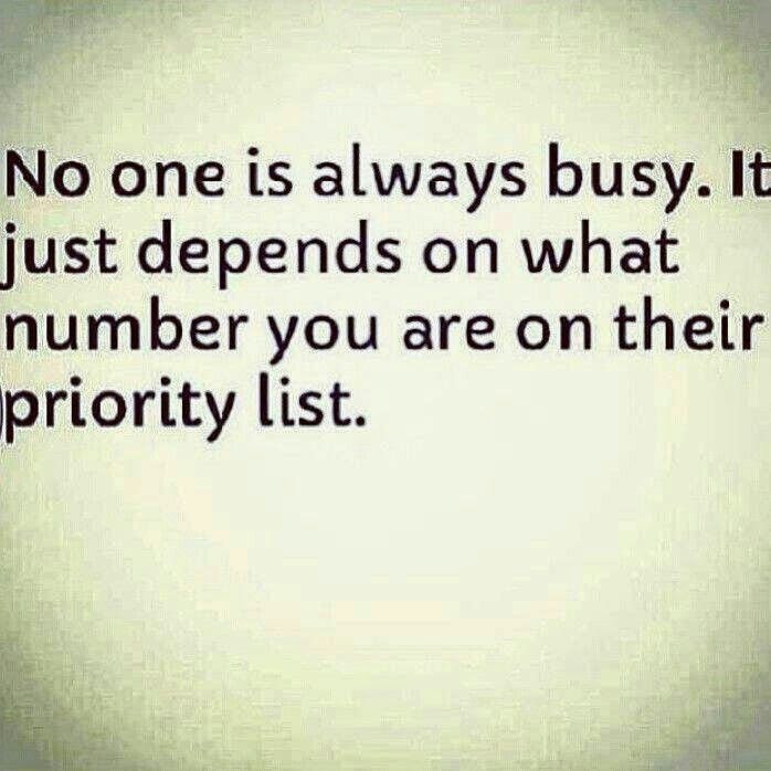 Quotes About Not Being Top Priority 16 Quotes