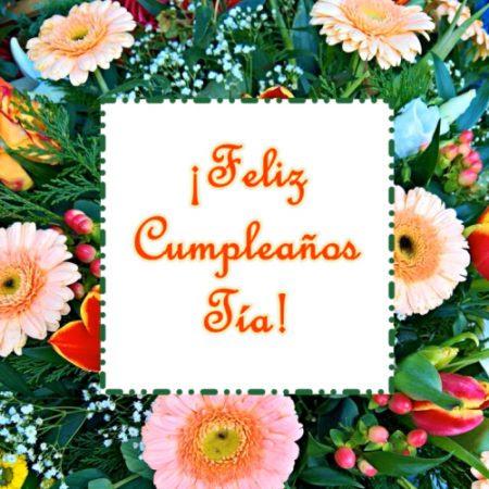 Felicitaciones De Cumpleaños Tias