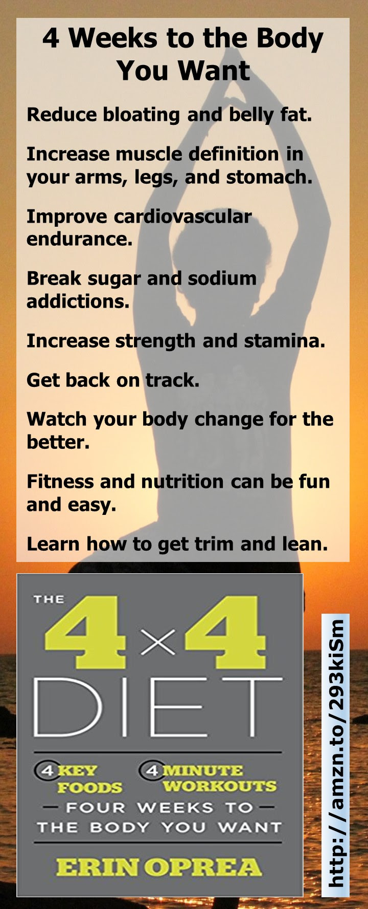 4 Weeks To The Body You Want The 4 X 4 Diet Celebrity Weight Loss Tips