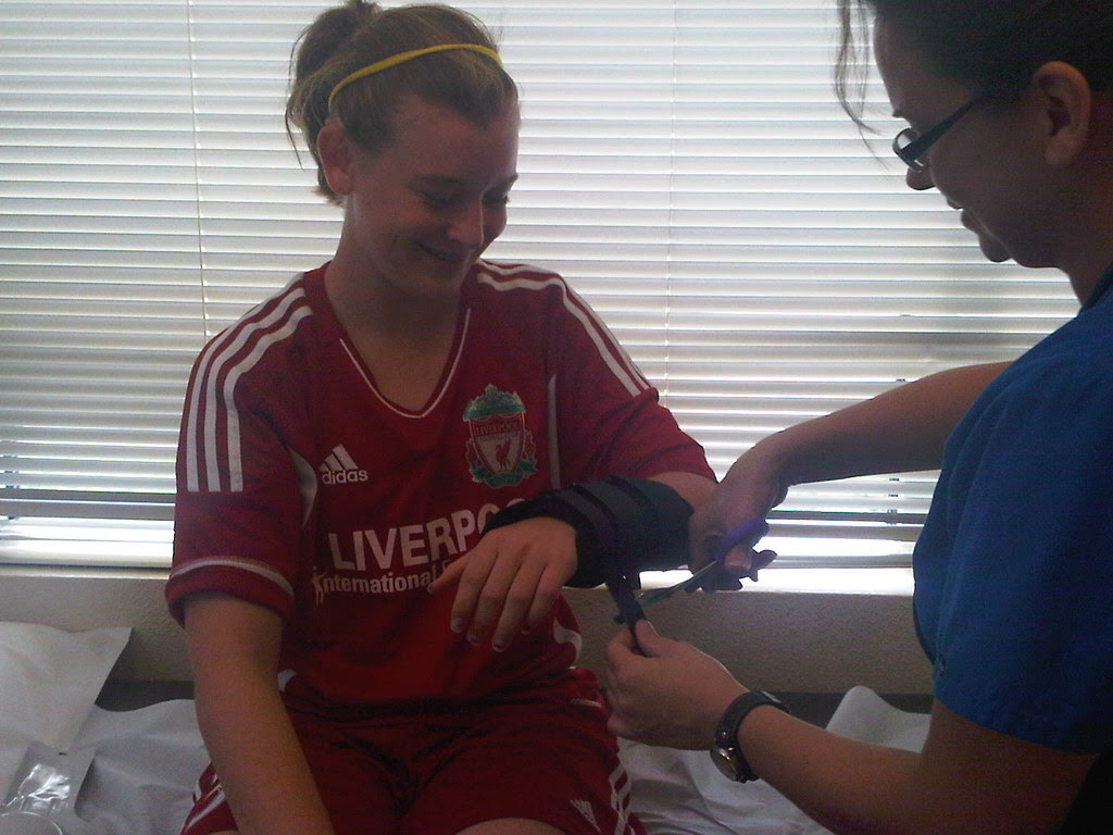Wrist Sprain!