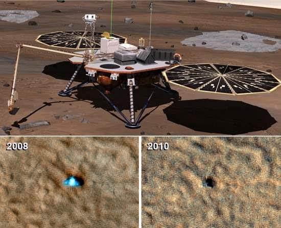 NASA encerra operações da sonda marciana Phoenix