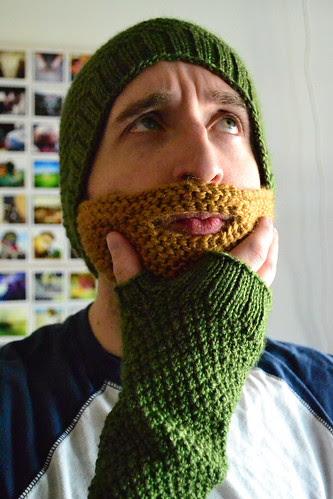 Beard Hat & Gloves