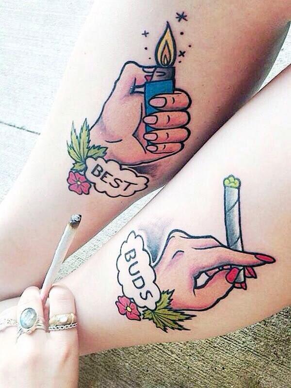 Unique Best Friend Tattoos That Redefine Your Friendship Tattoosera