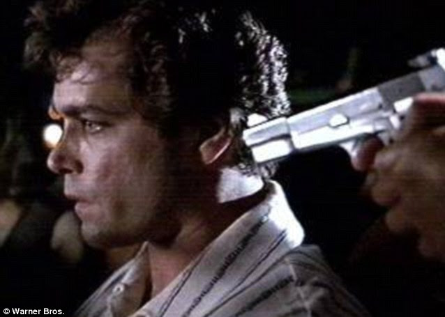 Captured on film: Ray Liotta immortalized Hill on the big screen in the adaptation of the book Goodfellas