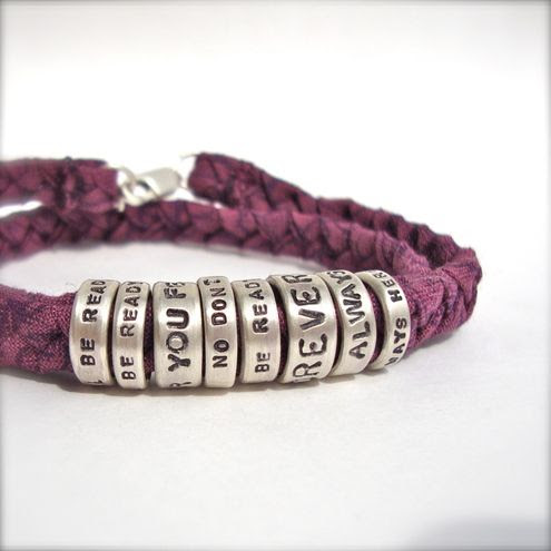 song lyrics bracelet